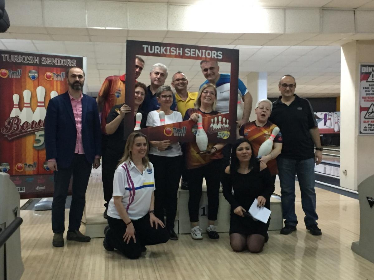 50 Yaşüstü Bowling Şampiyonası Yapıldı