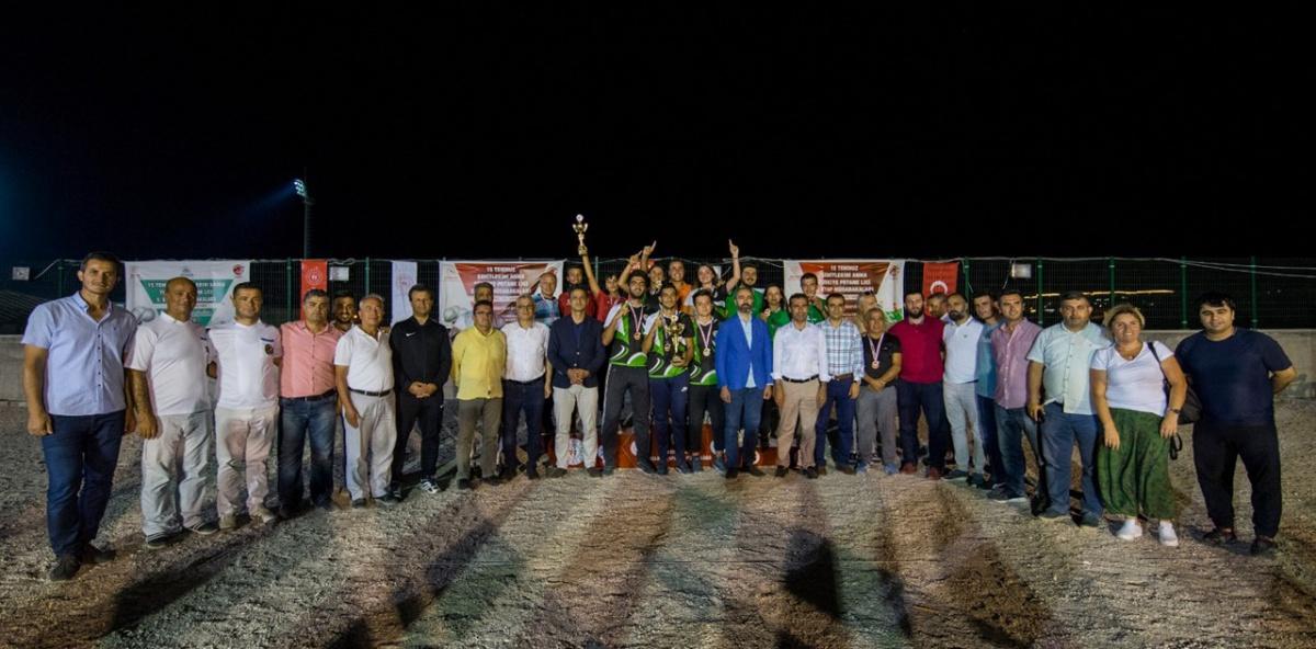 2018-2019 Türkiye Petank Ligi Şampiyonunu Buldu