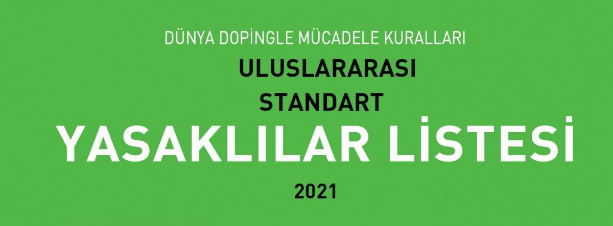 2021 Yılı Yasaklılar Listesi