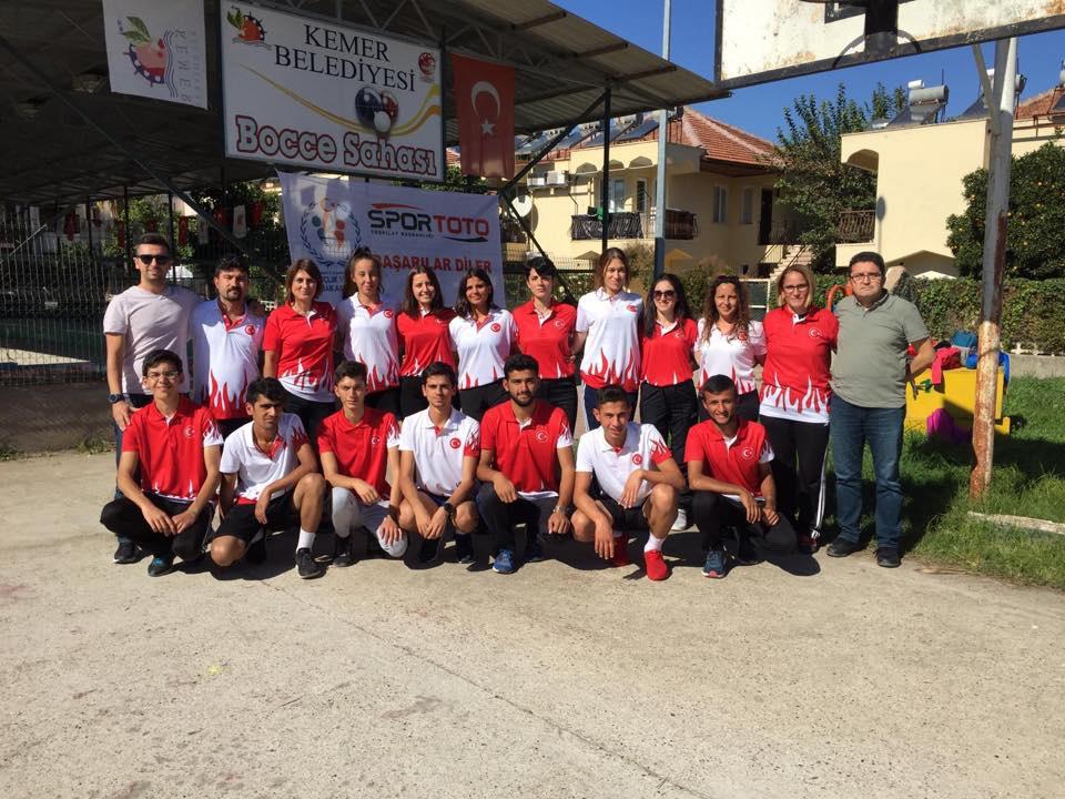 Balkan Bocce Şampiyonası Yapıldı