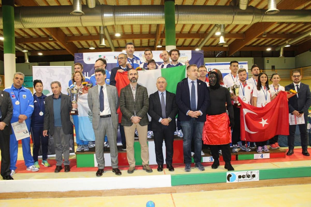 Bocce Takımımız İtalya'da Yarıştı