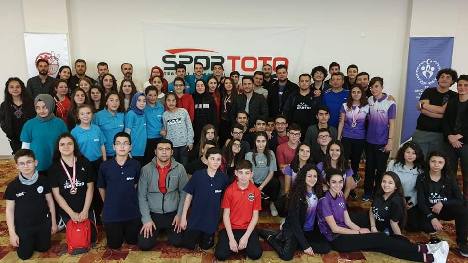 Dart 5. Etap ve Akdeniz Açık Dart Turnuvası Antalya'da Yapıldı.
