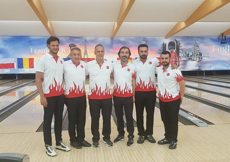 Avrupa Erkekler Bowling Şampiyonasına Katıldık