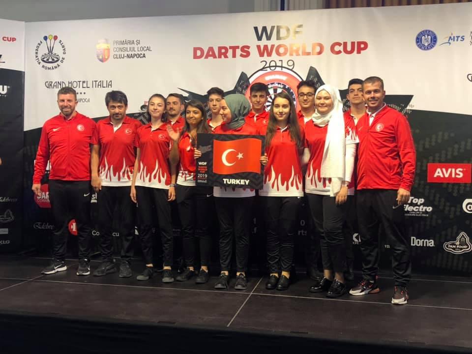 Milliler Dünya Şampiyonasında Yarıştı