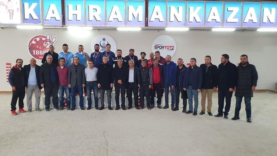 Raffa'da Erkeklerin Şampiyonu Ankara Oldu