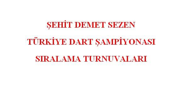 Dart'ta 2. Ayak Müsabakaları 22-24 Ekim'de Antalya'da yapılacak