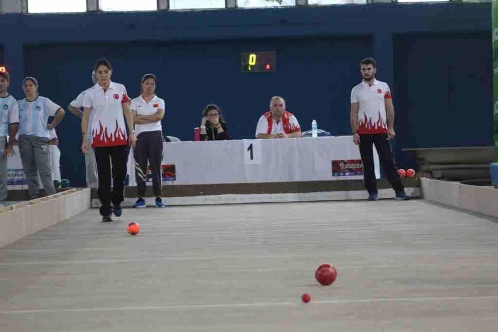 Bocce Milli Takımımız Dünya Şampiyonasında yarıştı