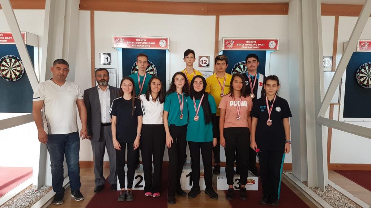 Dart 2.Etap Yıldızlar ve Gençler Ankara'da Yapıldı