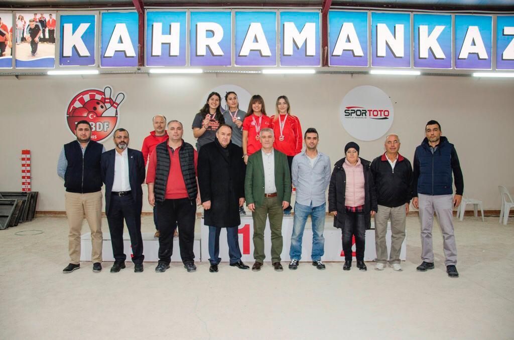 Raffa'da Kadınlar Şampiyonları Belli Oldu