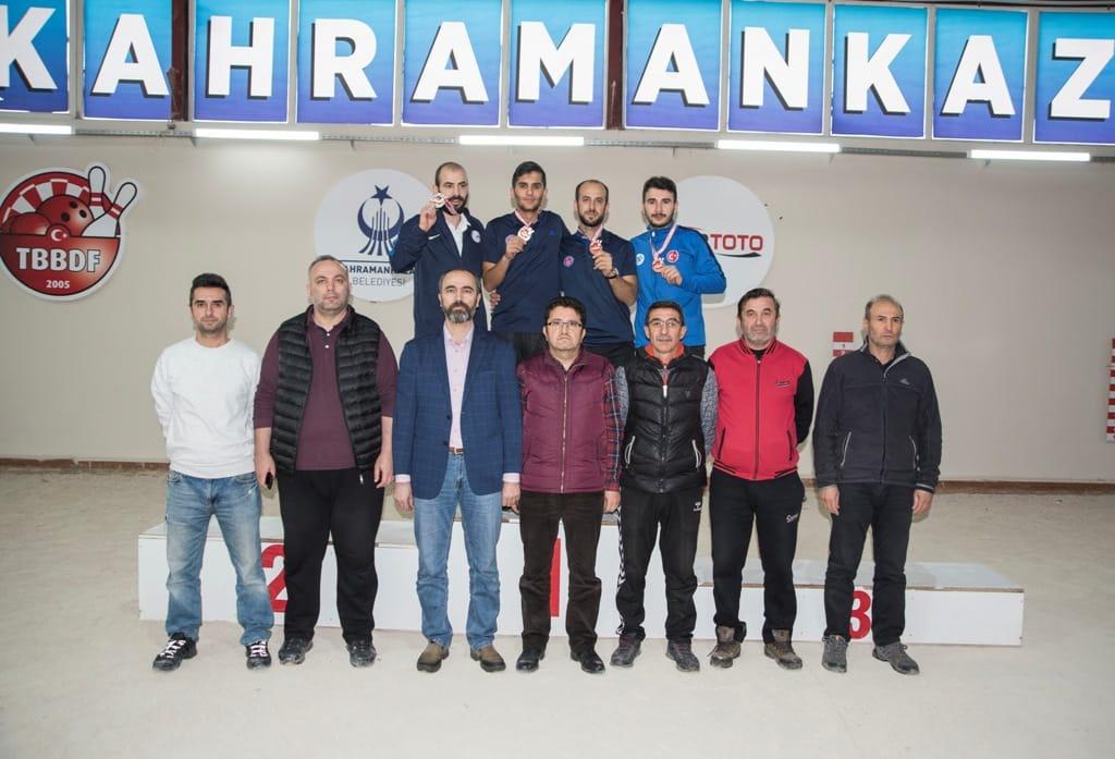 Raffa Şampiyonaları Tamamlandı