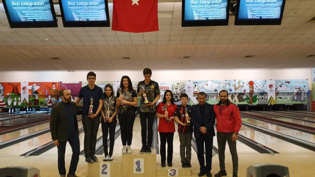 Bowling Gençler Kış Ligi Şampiyonası ve Gençler Federasyon Kupası Ankara'da Yapıldı