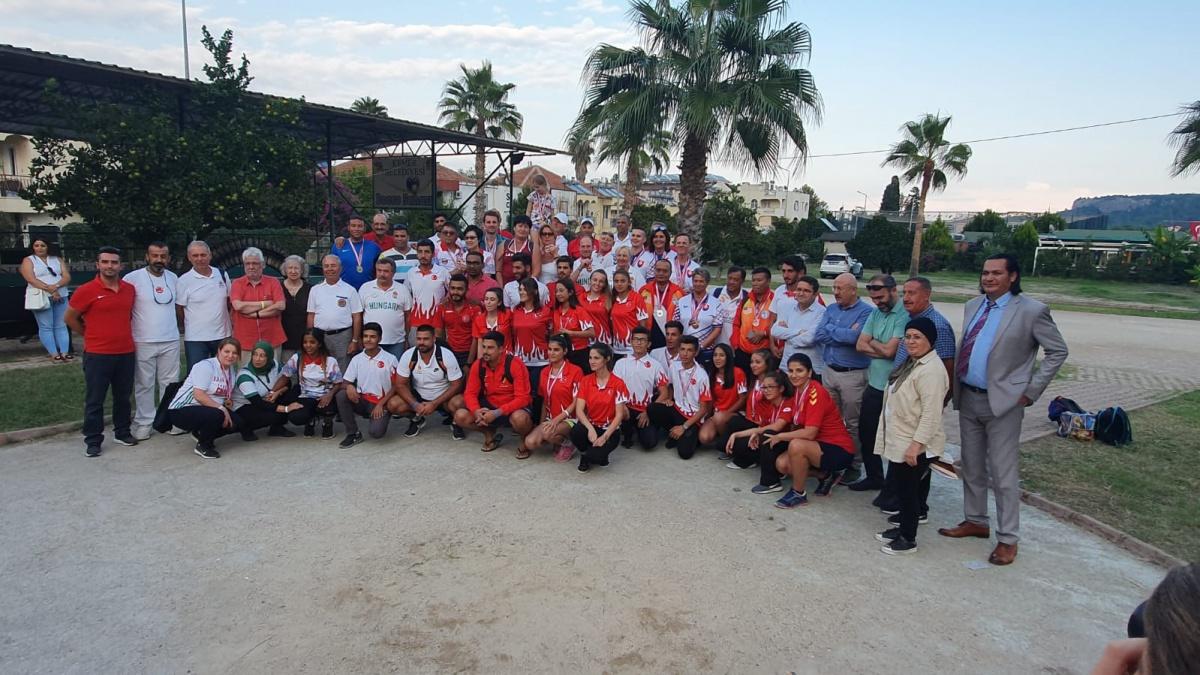 Uluslararası Bocce Turnuvası Kemer'de Yapıldı