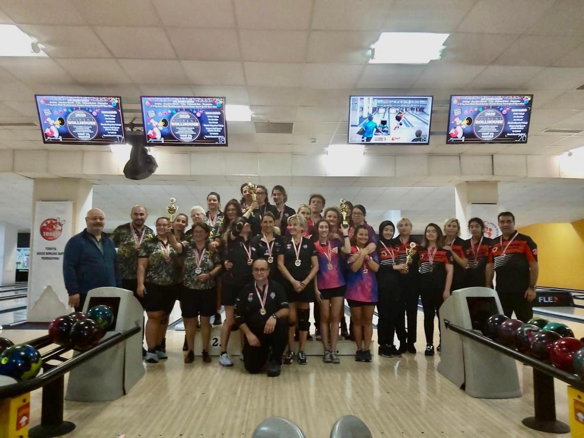 Türkiye Kulüplerarası Bowling Şampiyonasını Ankara Bowling S.K. kazandı