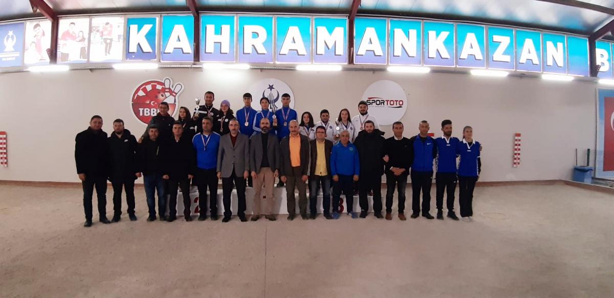 Bocce 3. Lig Ankara'da Tamamlandı