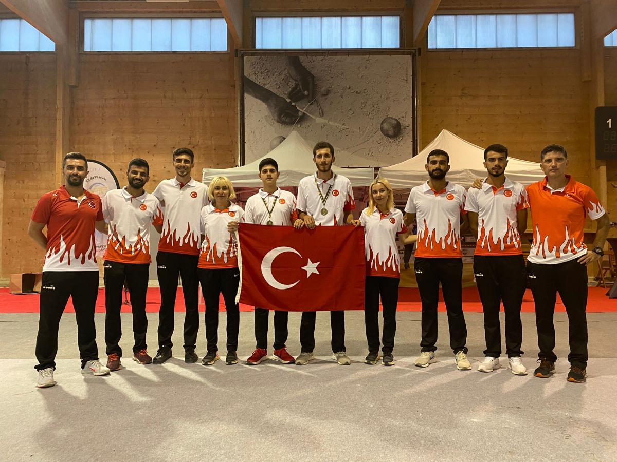 Dünya Bocce (Volo) Şampiyonasında Gençlerimiz Bize Umut Verdi
