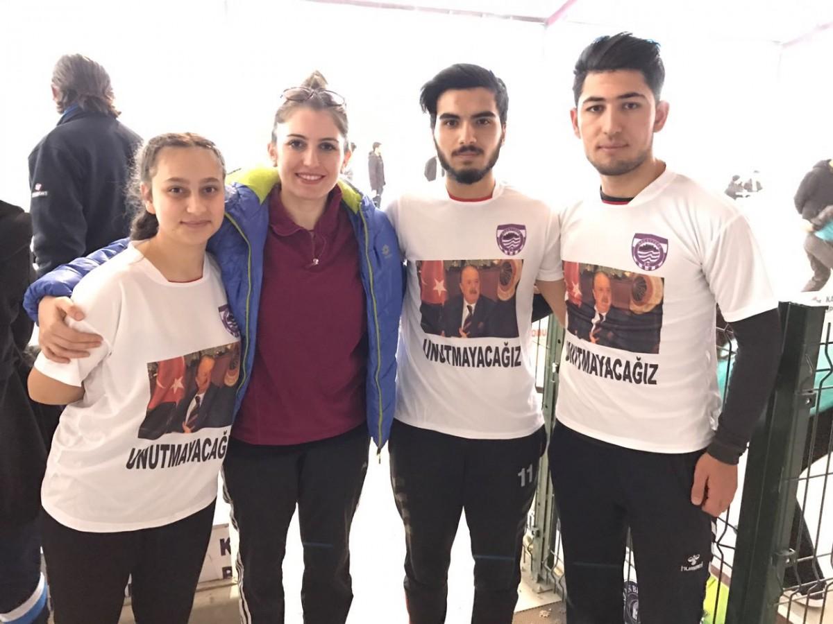 Hacettepe SK Bocce takımı geçen hafta yaşamını yitiren duayen spor adamı İlhan Cavcav'ı unutmadı!